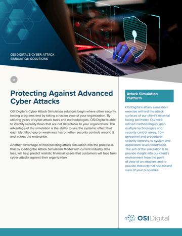 Cyberattack Data Sheet