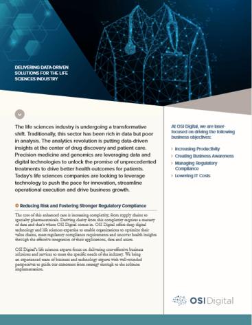 Life Sciences Data Sheet June 2020