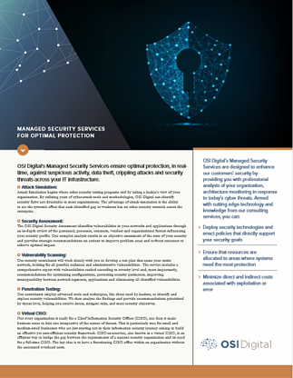 Managed Security Services Cover Image