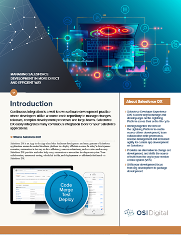 Salesforce DX White Paper Cover Image